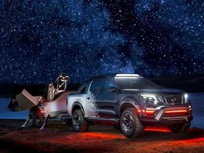 Nissan Navara kao mobilni svemirski opservatorij