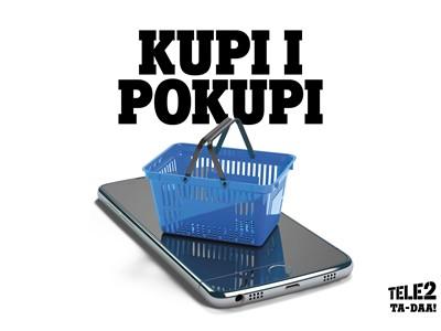 """Tele2 predstavio uslugu """"Kupi i pokupi"""""""