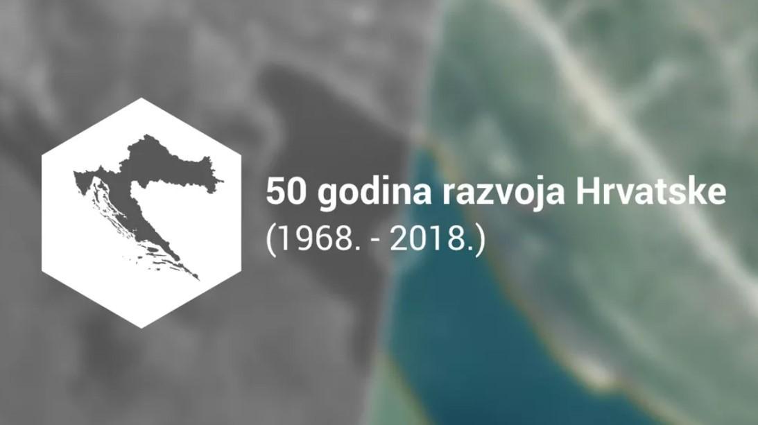 50 Godina Razvoja Hrvatske U Slikama Iz Zraka Internet Bug Hr