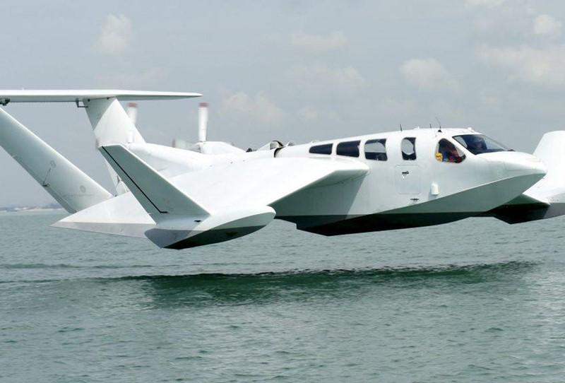 """Airfish8 """"plovi"""" na visini od nekoliko metara iznad vode i to ga čini iznimno ekonomičnim"""