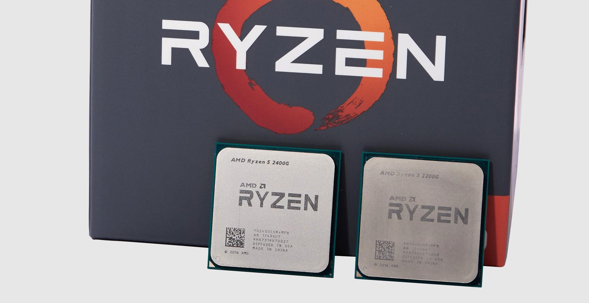 AMD Ryzen 5 2400G i Ryzen 3 2200G - Najbolja integrirana grafika do
