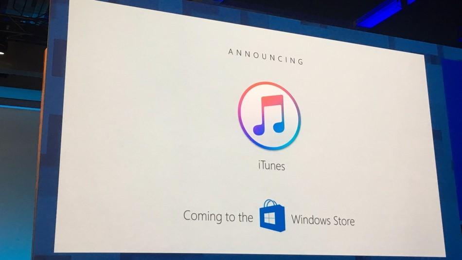 Appleov iTunes navodno spreman u obliku Windows 10 aplikacije