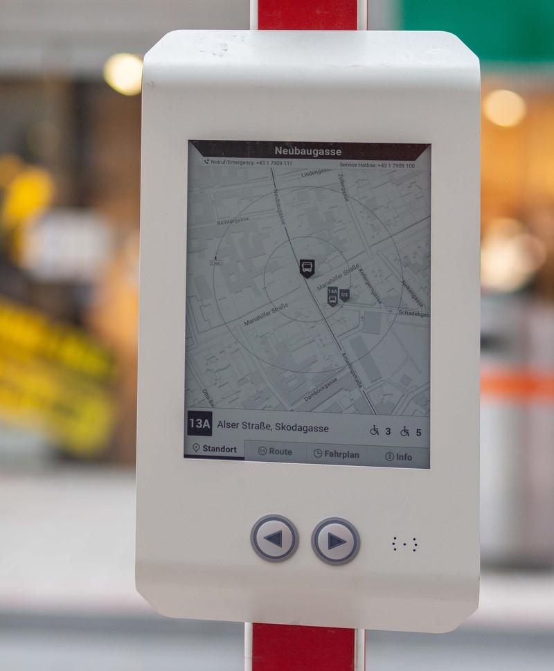 Interaktivan zaslon nudi brojne funkcije i informacija