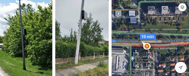 Izgled novih kamera za nadzor brzine na hrvatskim cestama i u Google Mapsu
