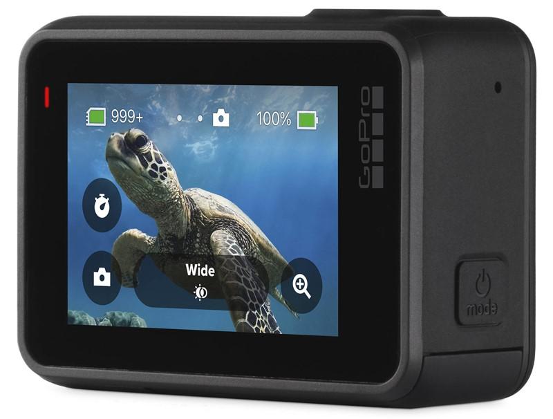 Stražnjom stranom svih GoProovih modela, pa tako i modela Black, dominira 5-centimetarski LCD