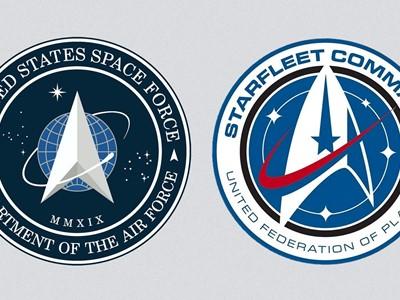 Je li američka Svemirska vojska prekopirala znak od Zvjezdanih staza?