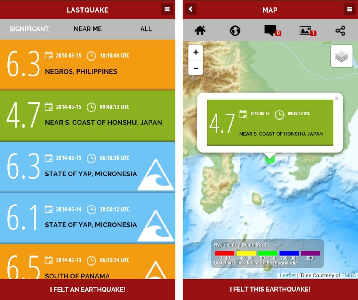 Lastquake Korisna Aplikacija Koju Cete Pozeljeti Nikada Ne Ukljuciti App Dana Bug Hr