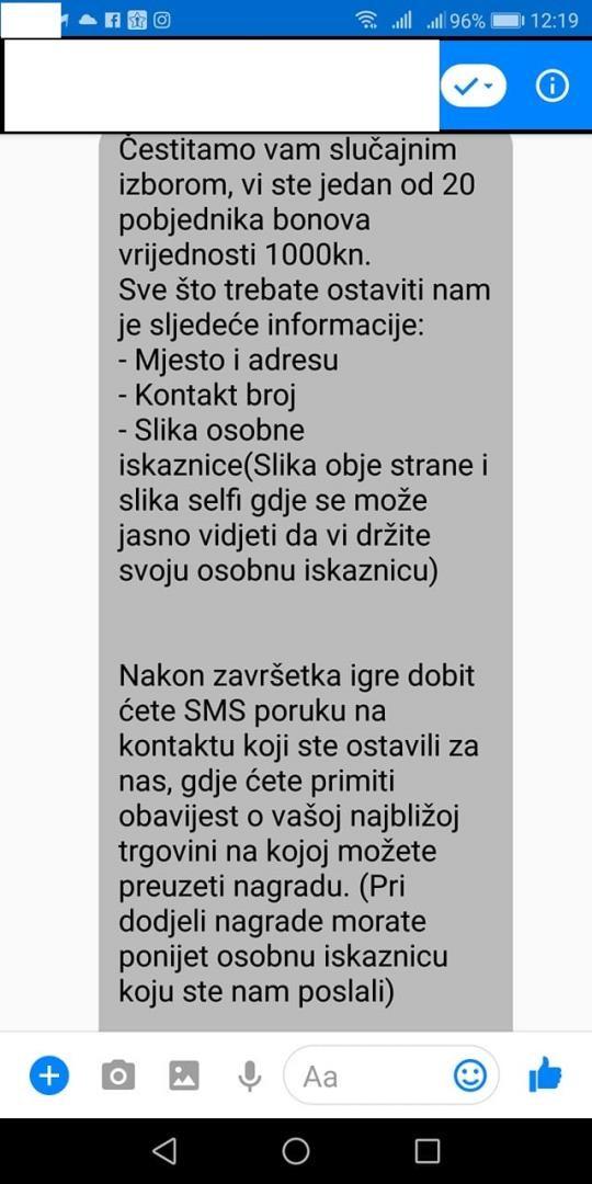 Trebate li SMS-u poslati djevojku nakon pretraga