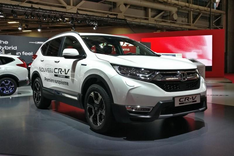 Honda je prikazala SUV CR-V s hibridnim pogonom