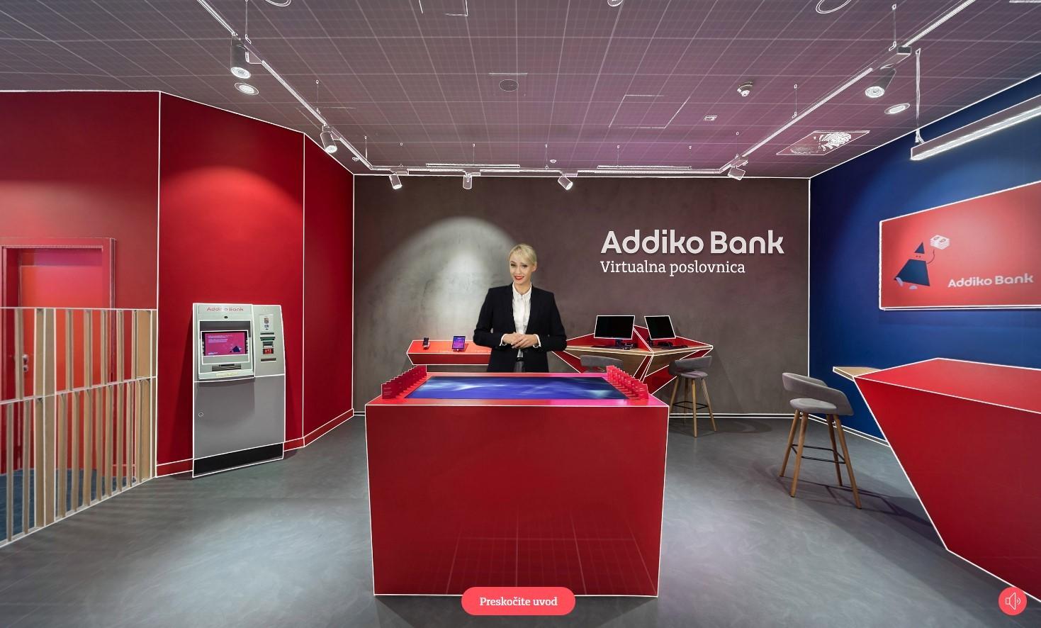 Predstavljena Addiko Virtualna Poslovnica U Kojoj Se Moze Otvoriti Tekuci Racun I Ugovoriti Kredit Biznis Bug Hr