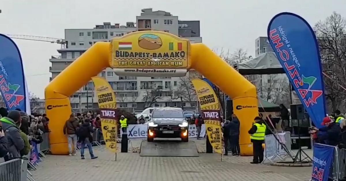 Uspješni start hrvatskog Teama Tesla na reliju Budapest - Bamako